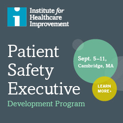 Institute for Healthcare Improvement - Executive Development Program - Session Details